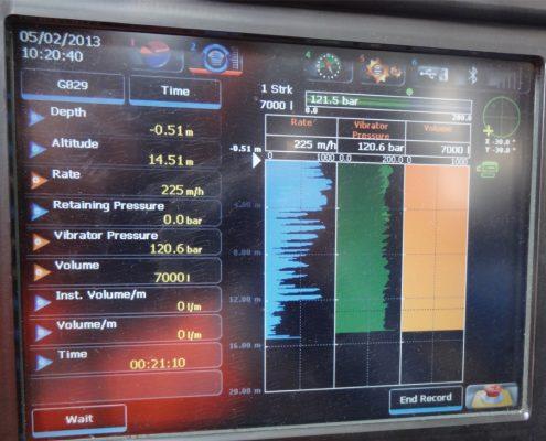 Vibroflotation Control Panel