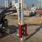 OMS Wick Drain Installation Machine