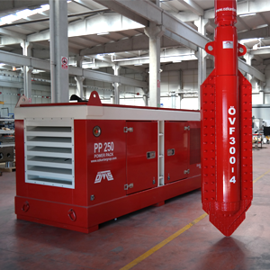 Rental-Used Vibroflotation Equipment and power pack