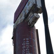 Crane Suspended Pile Driver