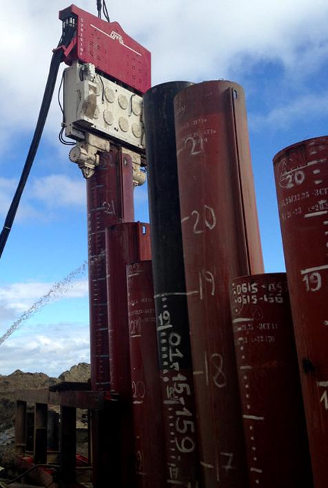 Crane Suspended Vibro Hammer SVR 101 NF