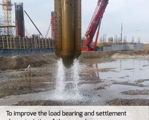 OMS - Soil Improvement Vibroflotation Equipment