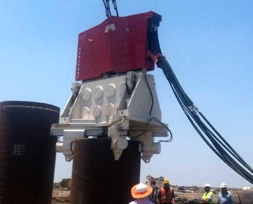 Crane-Suspended-Vibro-Hammer SVR 200 NF