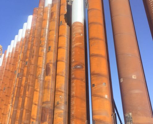 Crane Suspended Vibratory Hammer SVR 200 NF-Suez Canal-Port Said