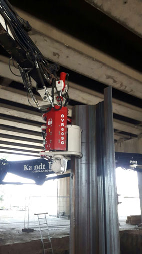 Side Grip Sheet Pile Driver | OMS Vibro
