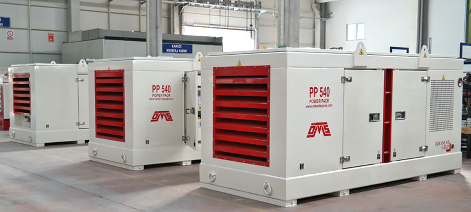 Power Packs in Egypt Project