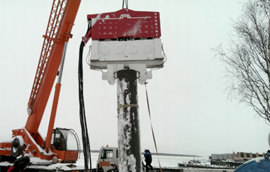 Pile Driver - Excavator Mounted and Crane Suspended