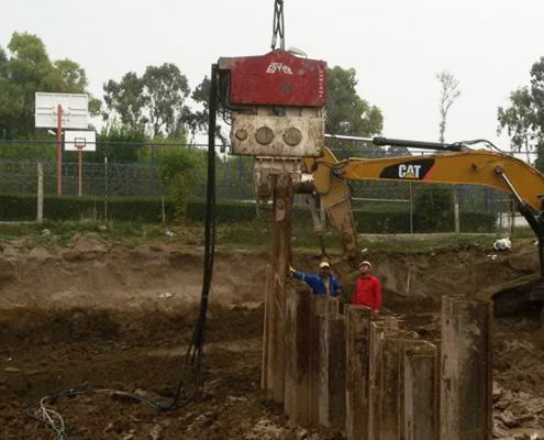 Crane Suspended Vibro Hammer SVR 25 NF