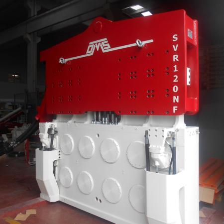 Crane Suspended Vibro Hammer SVR 120 NF