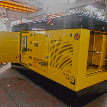 Hydraulic Power Pack Yellow Color Right View