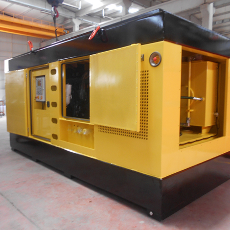 Hydraulic Power Pack PP 700 Yellow Color Right View