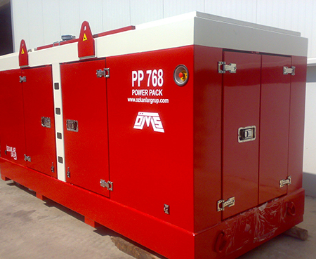 Hydraulic Power Pack PP 768 Red Color Right View