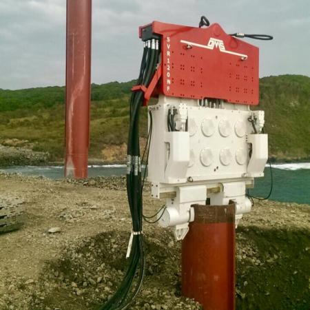 Crane Suspended Vibratory Hammer SVR 120 NF