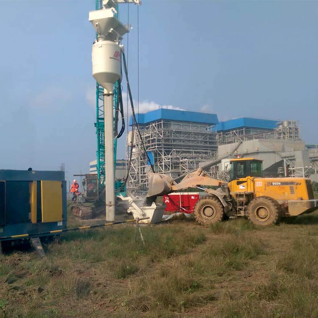 Vibroflot-Equipment-On-Jobsite