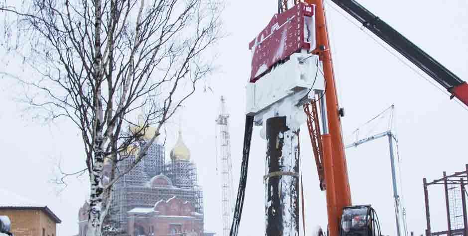 Crane Hanging Vibratory Hammer SVR 80 NF Russia