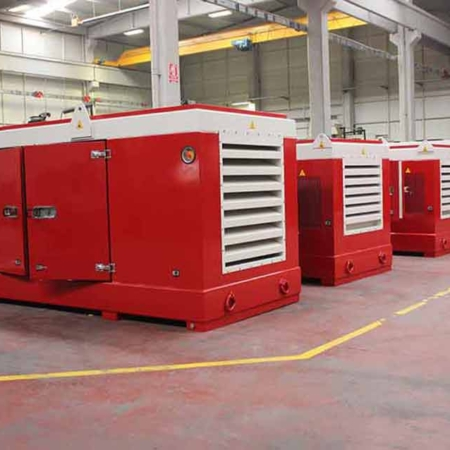 Hydraulic Power Pack Series Red Manufacturing Plant