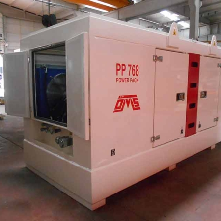 Hydraulic Power Pack White PP 768 Left View