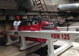 KBM 125 Guided Boring Machine Azerbaijan Front View