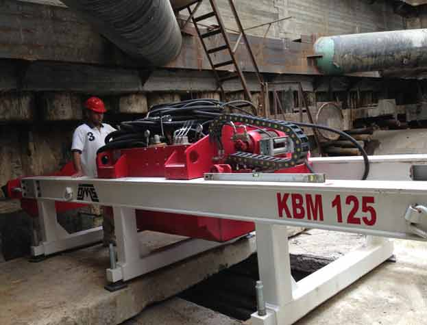 KBM 125 Guided Boring Machine Azerbaijan Front View