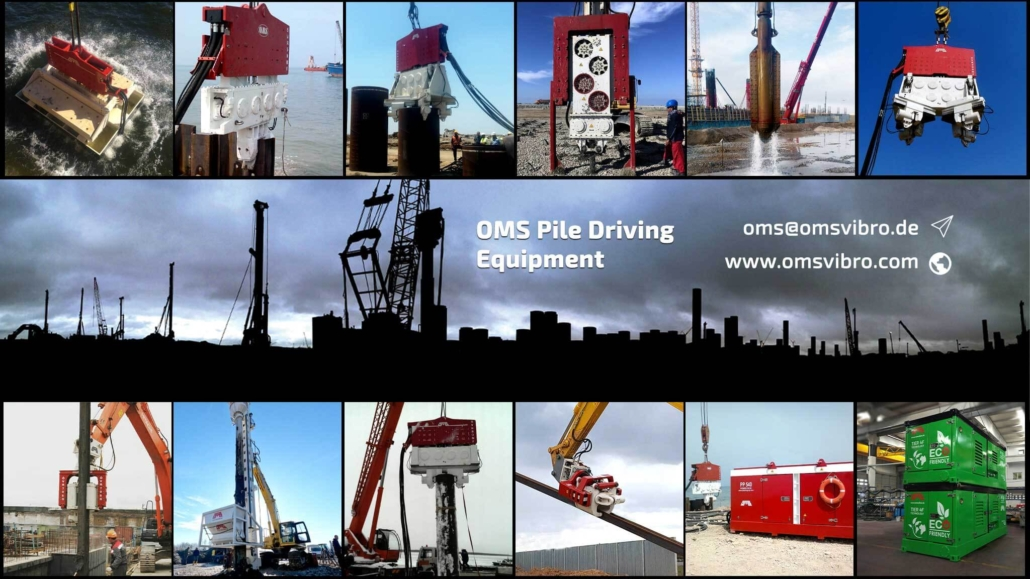 OMS Pile Driver Equipment Types