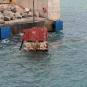SVR 50 NF Hydraulic Vibro Hammer Working Underwater