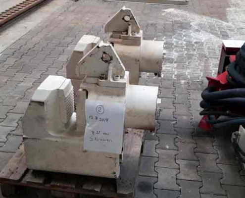 Used Hydraulic Clamps For Tube Driving